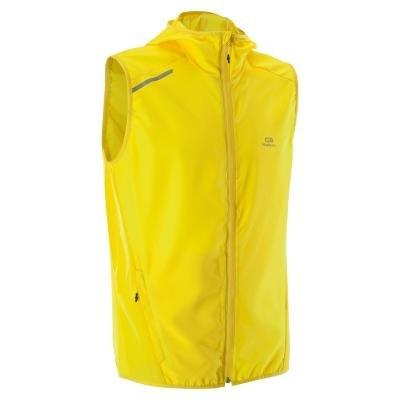 Žlutá pánská běžecká vesta Kalenji