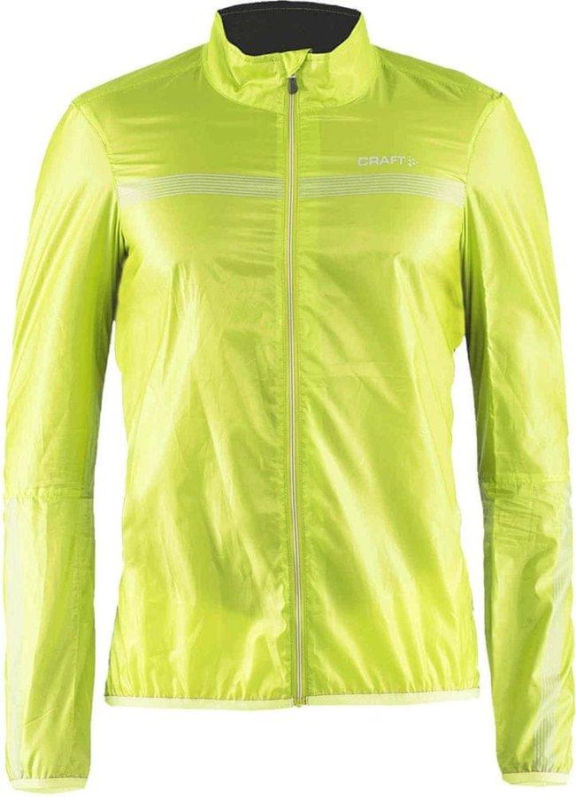 Žlutá pánská cyklistická bunda Craft - velikost M
