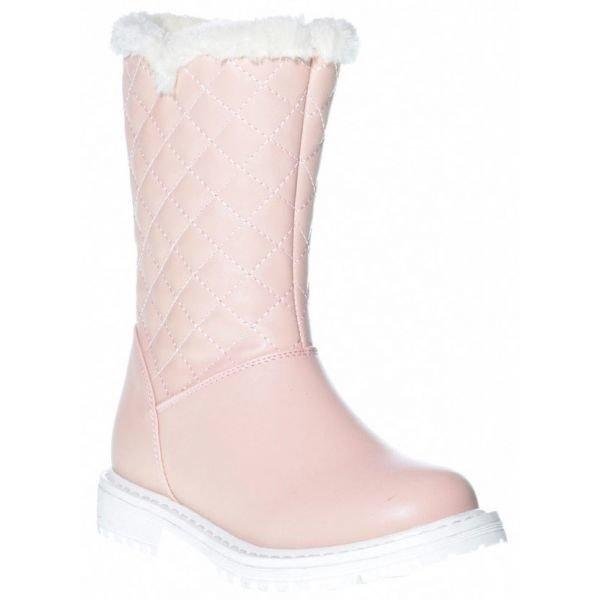 Růžové dívčí zimní boty Junior League
