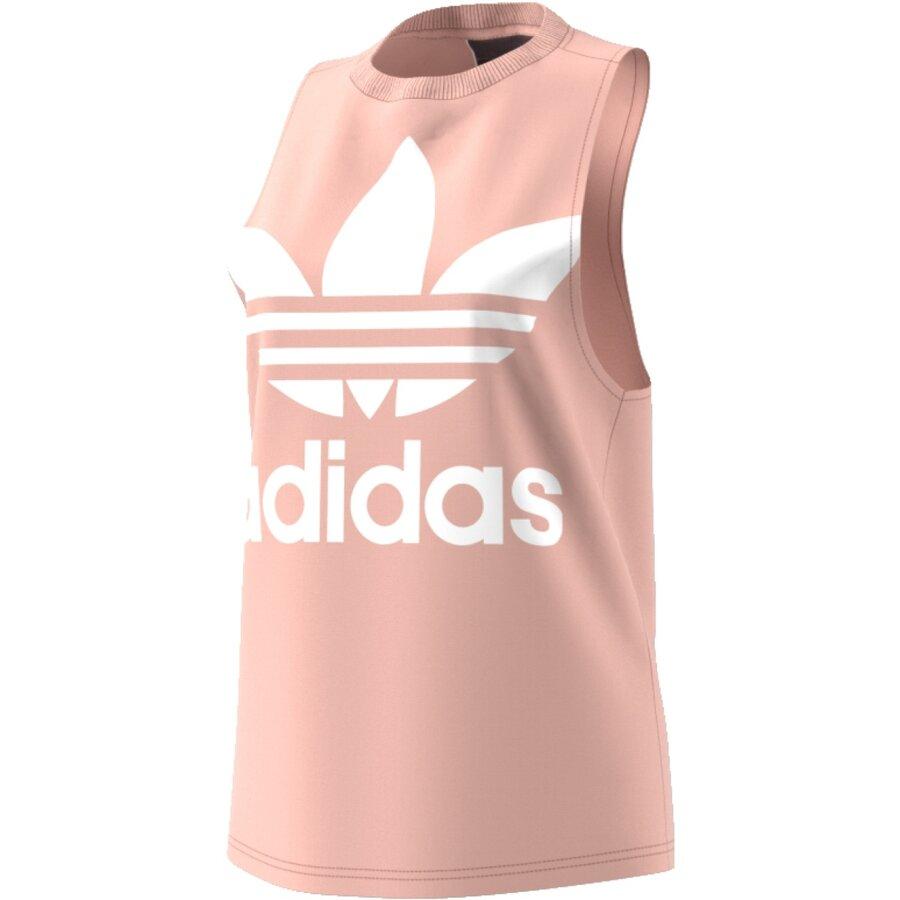 Růžové dámské tílko Adidas - velikost 38