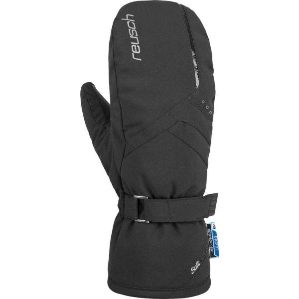 Černé dámské lyžařské rukavice Reusch