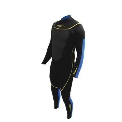Černo-modrý dlouhý pánský neoprenový oblek Fullsuit, Aqualung