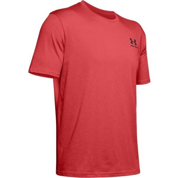 Červené pánské tričko s krátkým rukávem Under Armour - velikost S