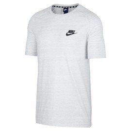 Bílé pánské tričko Nike - velikost S