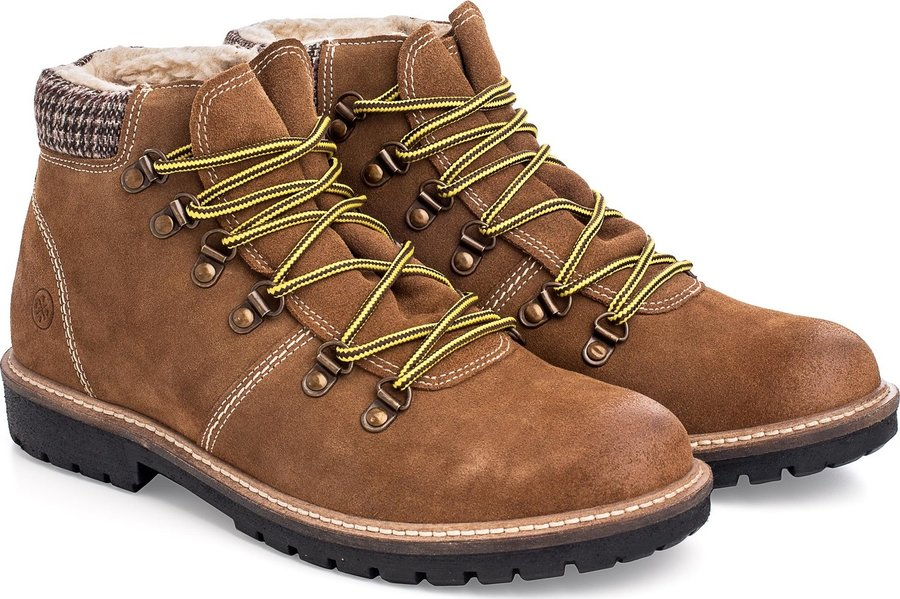 Hnědé pánské zimní boty Woox - velikost 44 EU