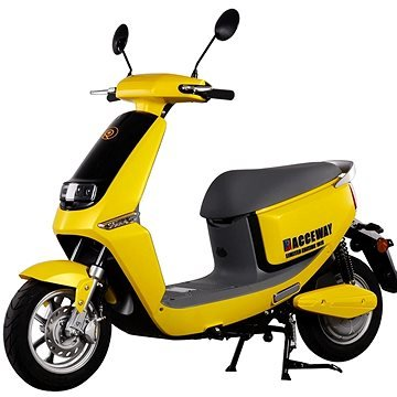 Žlutý elektromotocykl Smart, Racceway