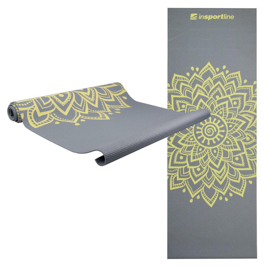 Podložka na jógu inSPORTline - délka 172 cm a tloušťka 0,3 cm