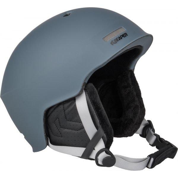 Šedá pánská helma na snowboard Reaper