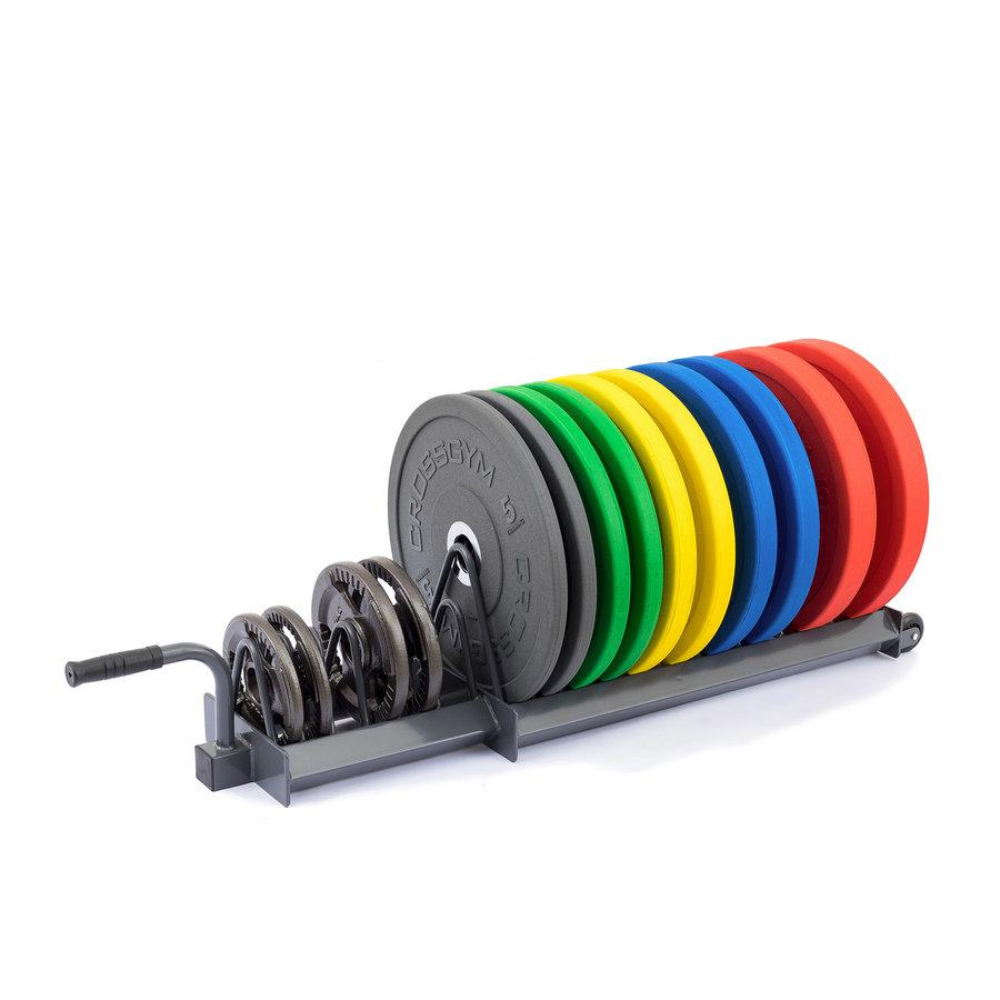Stojan na závaží - Stojan na kotouče TRINFIT Bumper Plate Rack