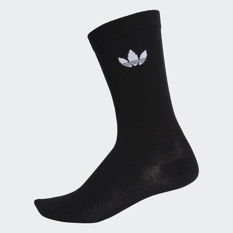 Černé pánské ponožky Adidas - velikost 39-42 EU