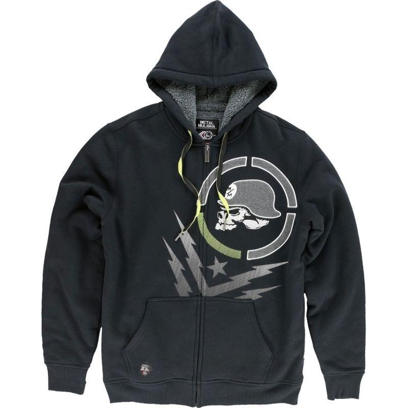 Černá pánská mikina s kapucí Metal Mulisha
