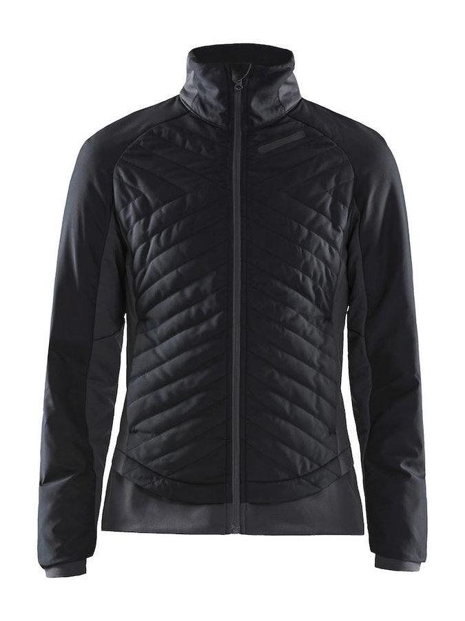 Černá dámská bunda na běžky bez kapuce Craft