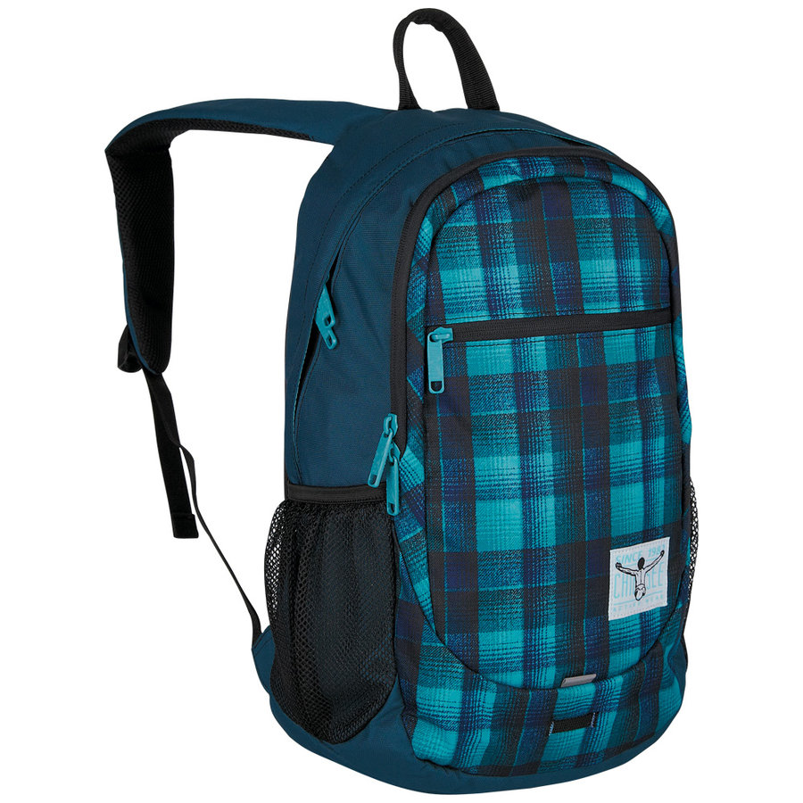 Batoh - Chiemsee Techpack two backpack W16 Checky chan blue