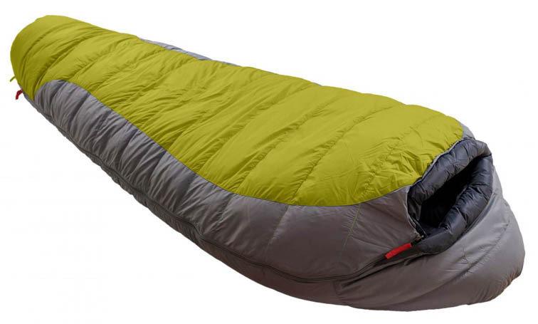 Zelený spací pytel Warmpeace - délka 195 cm