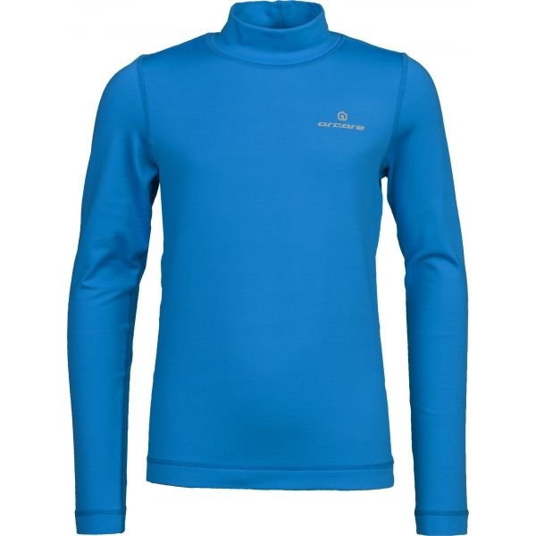 Modré dětské funkční tričko s dlouhým rukávem Arcore
