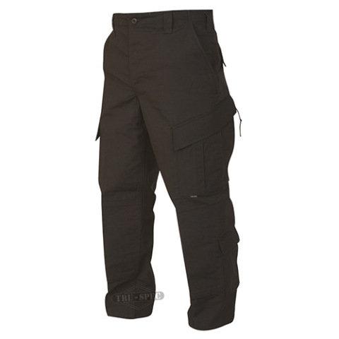 Kalhoty - Kalhoty TRU P/C rip-stop ČERNÉ