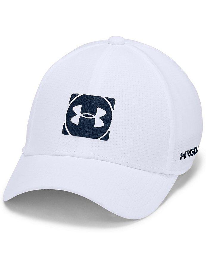 Bílá chlapecká golfová kšiltovka Under Armour