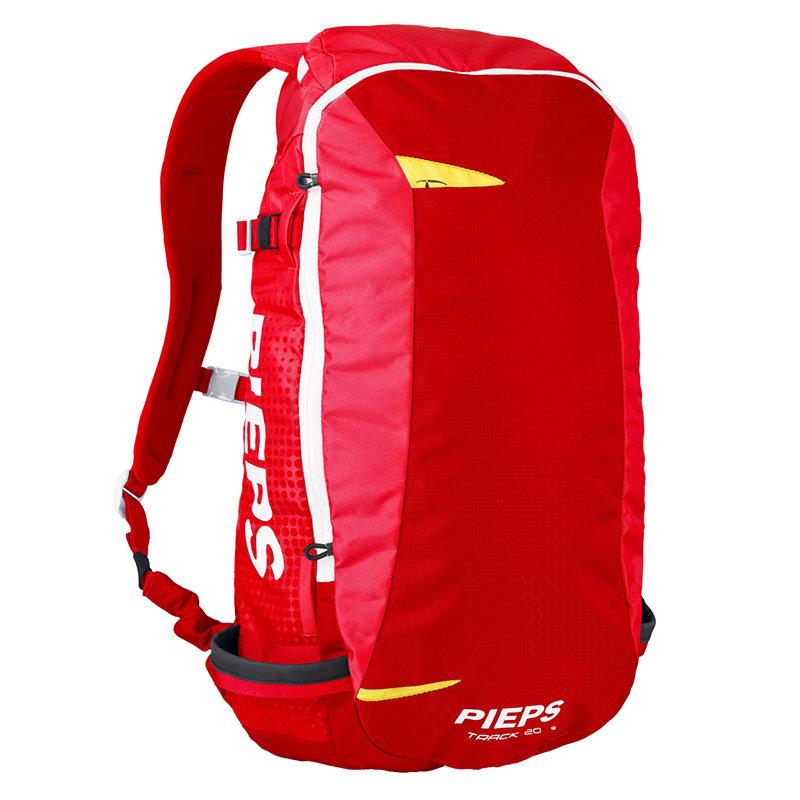 Červený skialpový batoh Pieps - objem 20 l