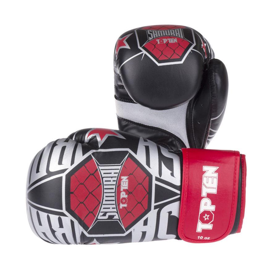 Černé boxerské rukavice Top Ten - velikost 10 oz