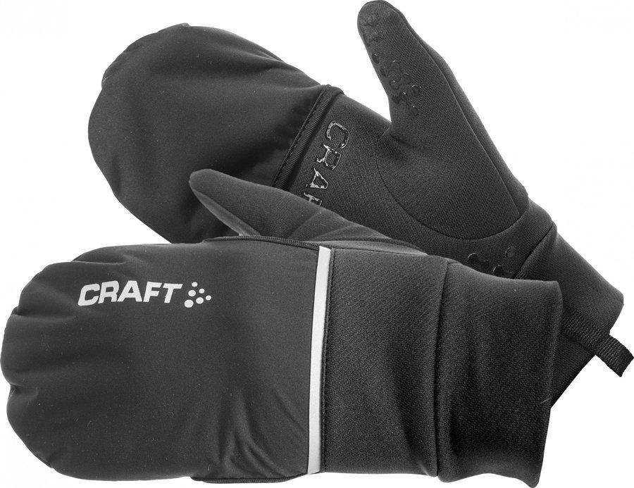 Černé zimní dámské cyklistické rukavice Craft