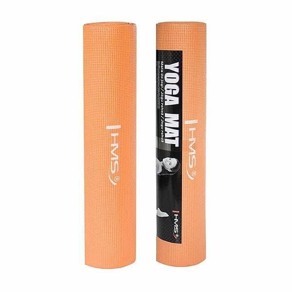 Oranžová podložka na jógu One Fitness - délka 173 cm a tloušťka 0,6 cm