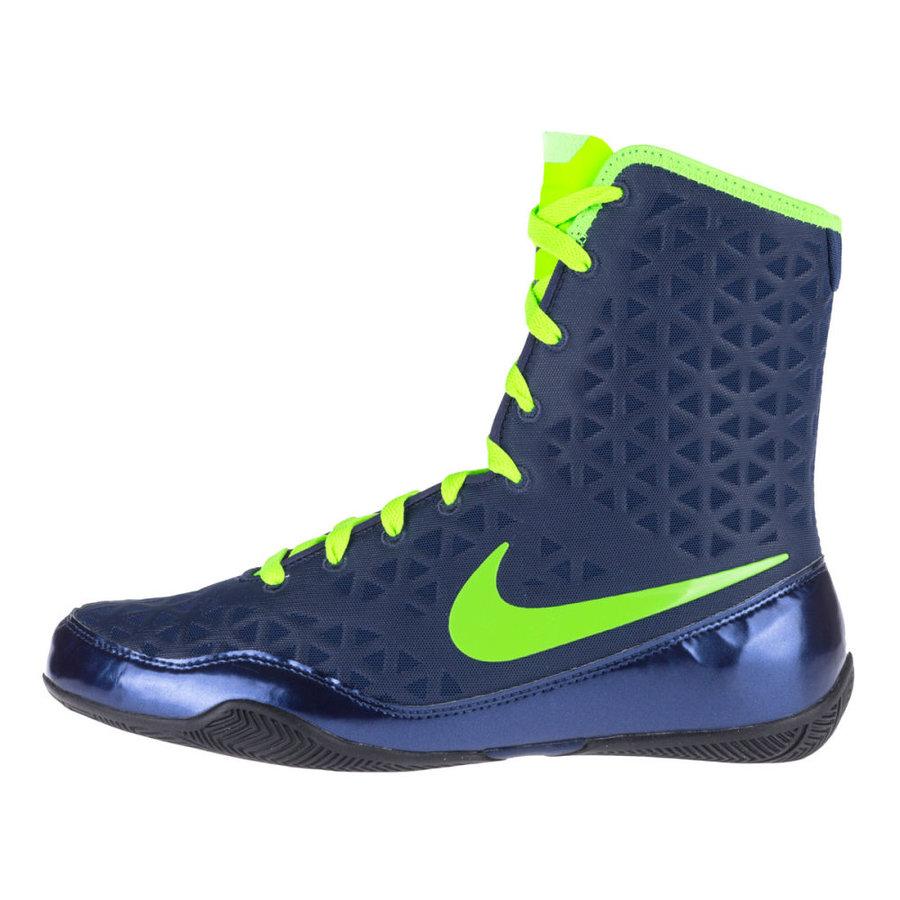 Modro-zelené boxerské boty KO, Nike