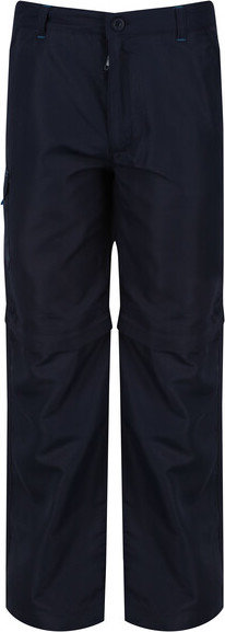Modré dětské turistické kalhoty Regatta