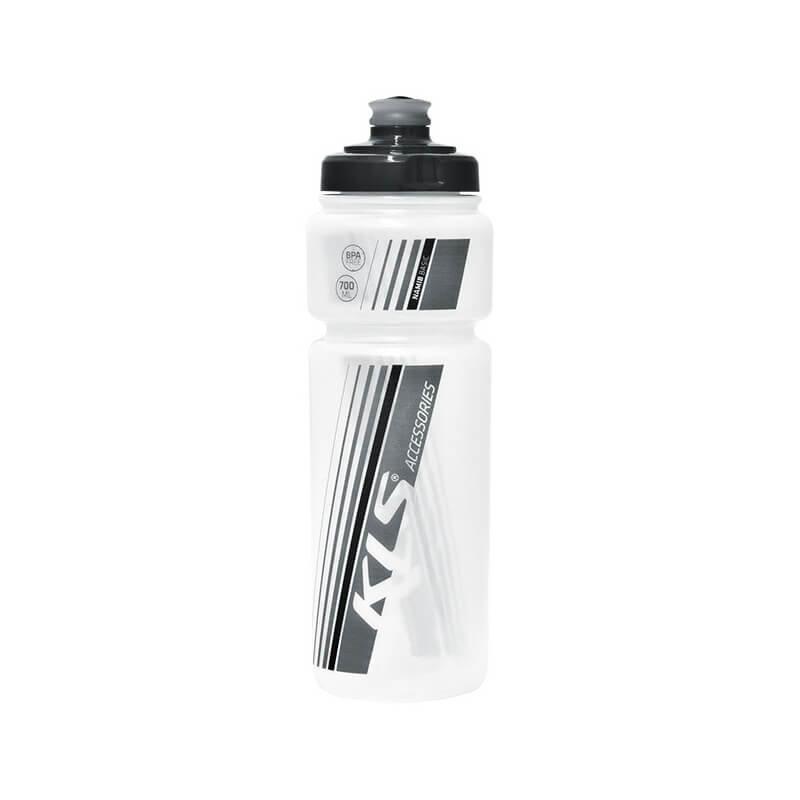 Bílá láhev na pití Kellys - objem 0,7 l