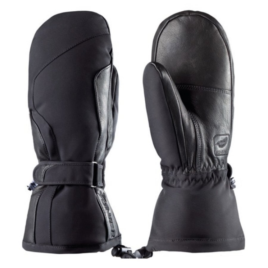 Černé dámské lyžařské rukavice Zanier - velikost S