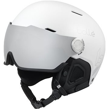 Bílá lyžařská helma Bollé