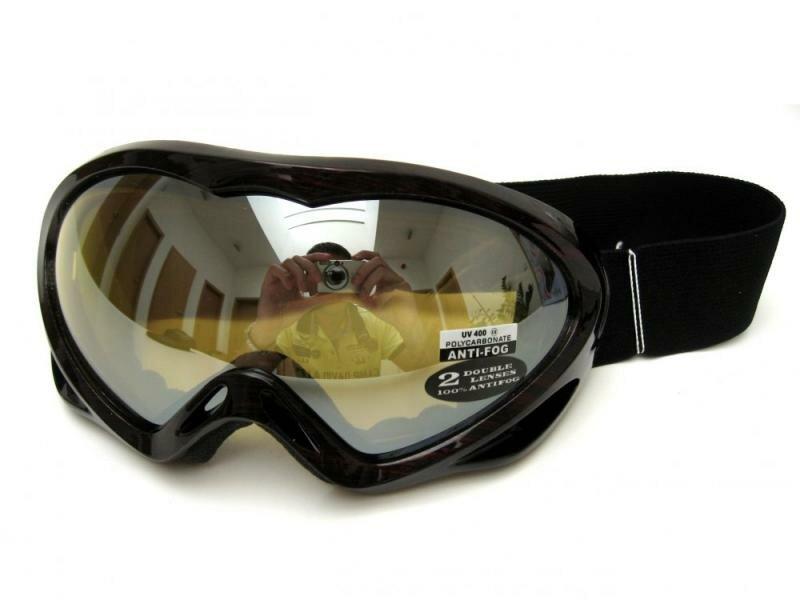 Červené lyžařské brýle Cortini