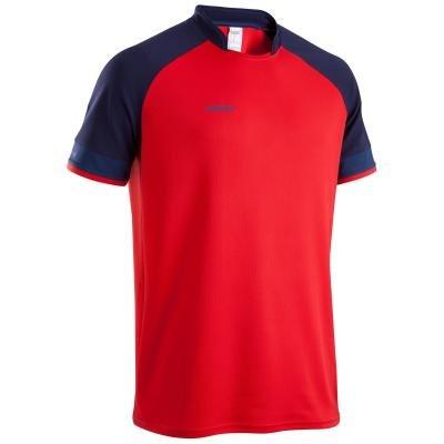 Červený pánský ragbyový dres FULL 300, Kipsta - velikost S