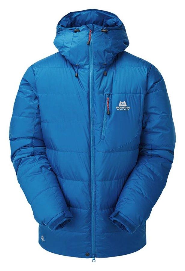 Modrá zimní pánská turistická bunda Mountain Equipment