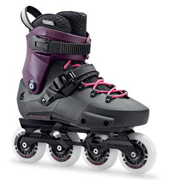 Černé in-line kolečkové brusle Rollerblade - velikost 38 EU