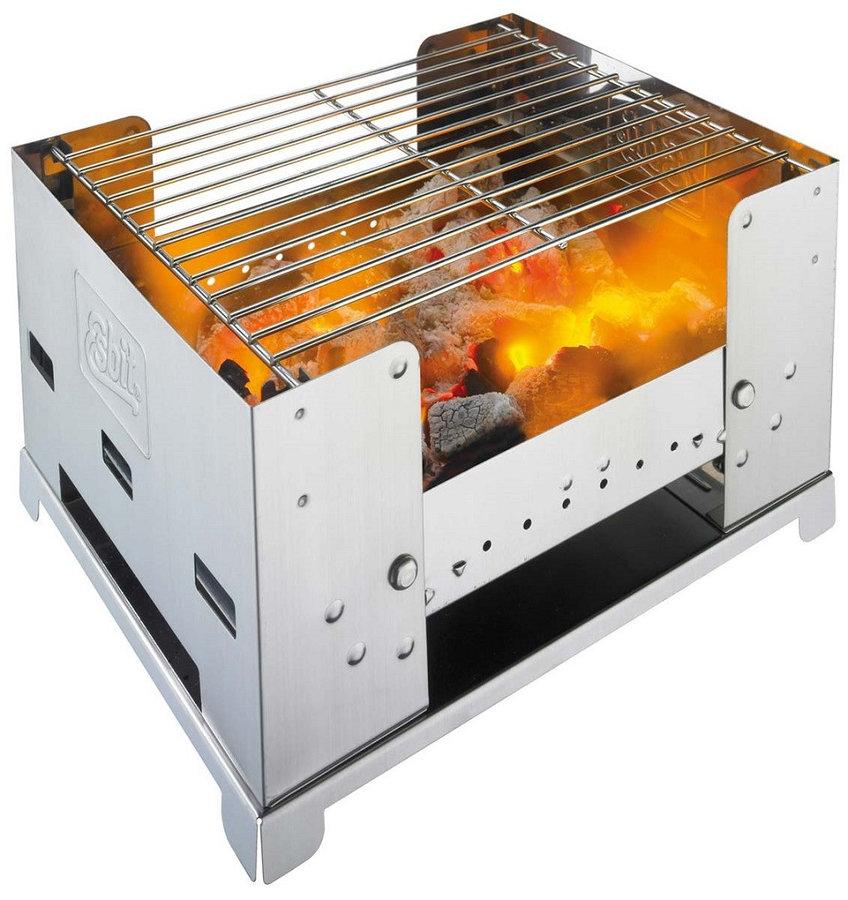 Gril na dřevěné uhlí BBQ 300S, Esbit