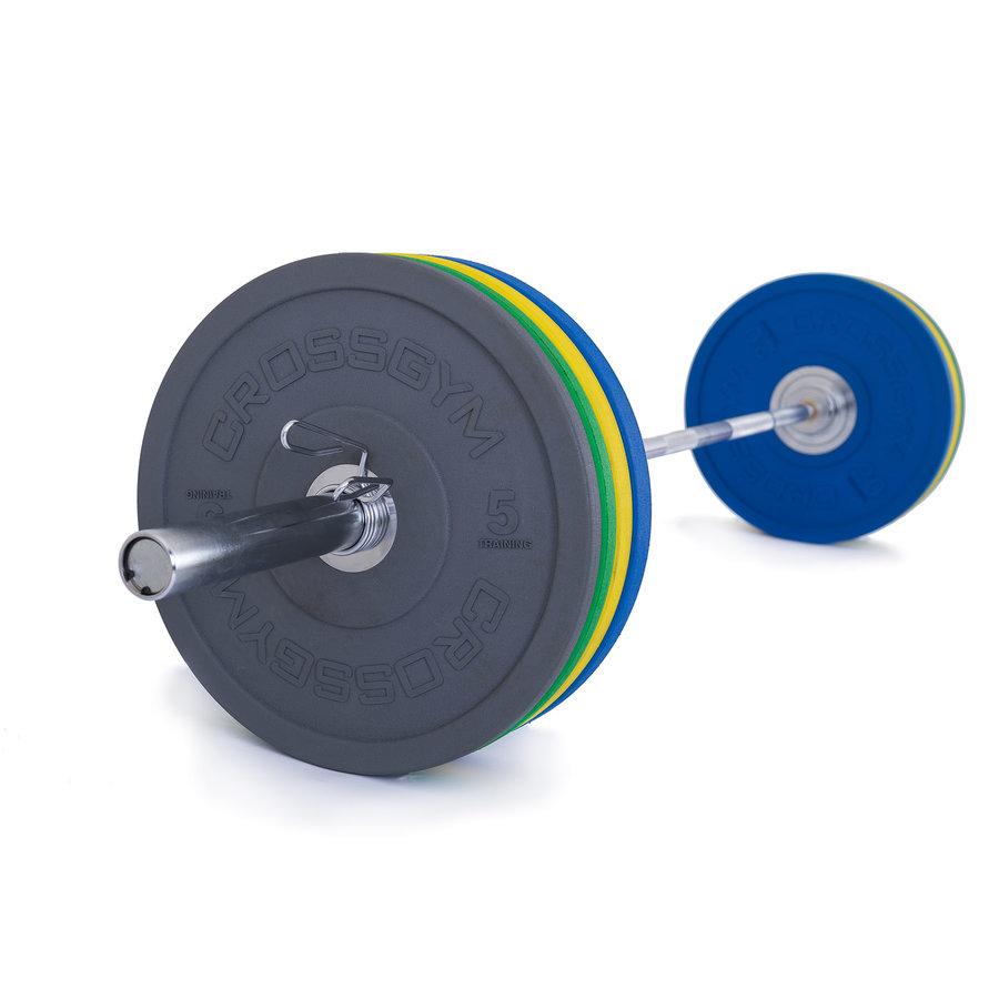 Činkový set - TRINFIT Olympijská činka 120 kg Bumper CrossGym