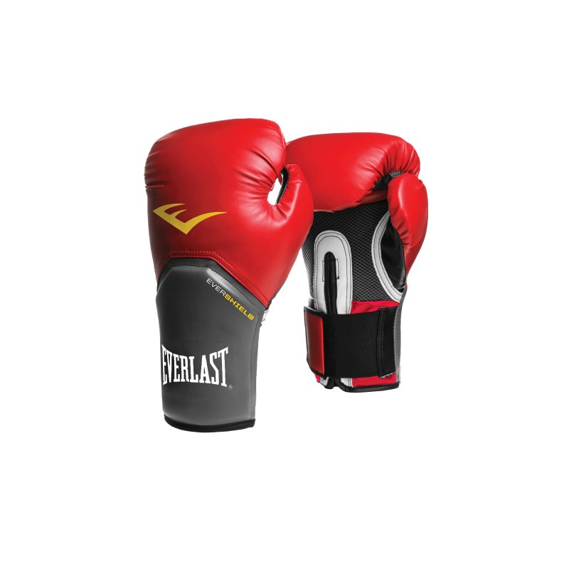 Červené boxerské rukavice Everlast - velikost 14 oz