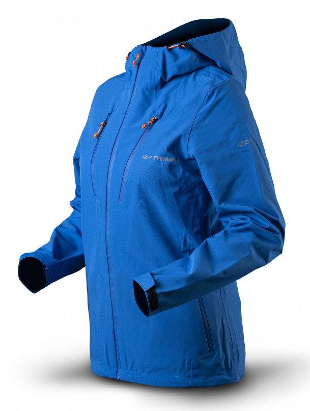 Modrá zimní dámská bunda s kapucí Trimm