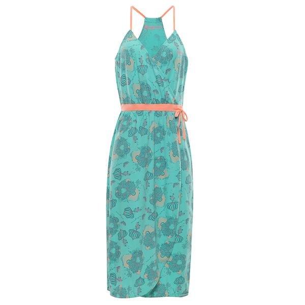 Zelené dámské šaty Alpine Pro