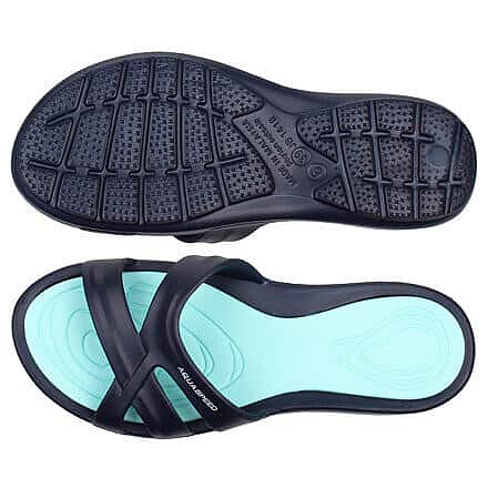 Černé dámské pantofle Aqua-Speed - velikost 39 EU