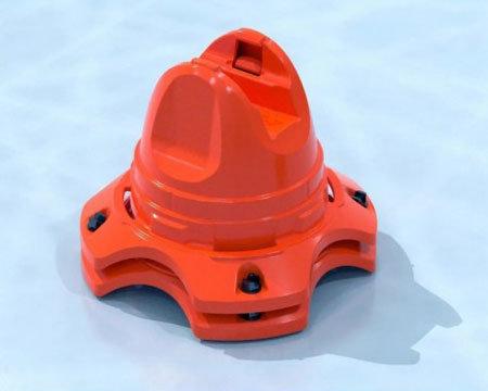 Oranžový tréninkový kužel Winnwell - 2 ks