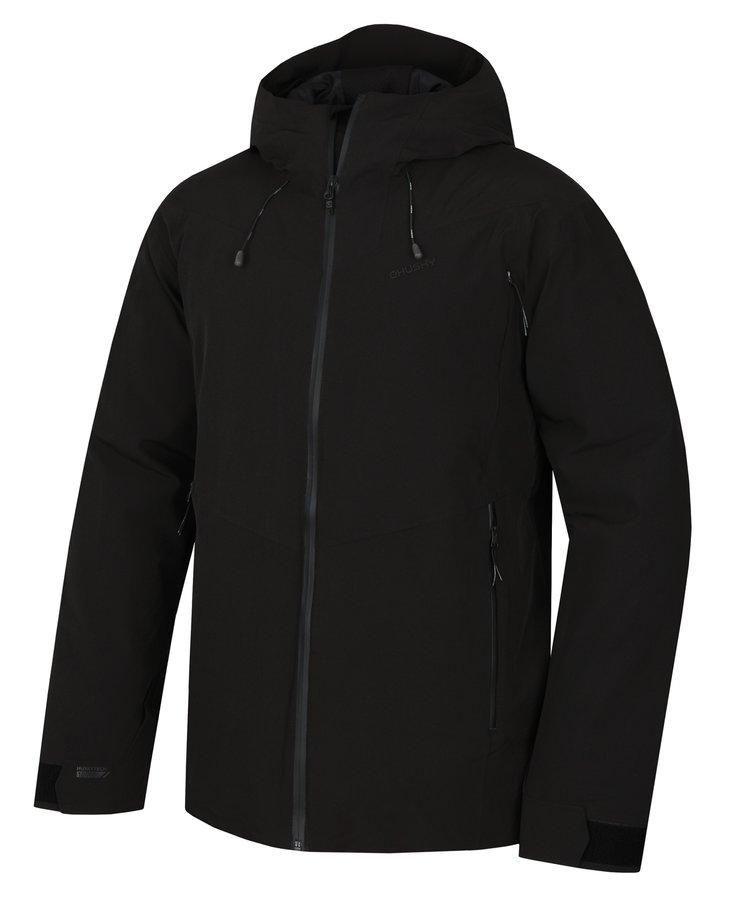 Černá hardshellová pánská bunda Husky