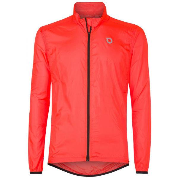 Oranžová cyklistická bunda Briko - velikost XXL