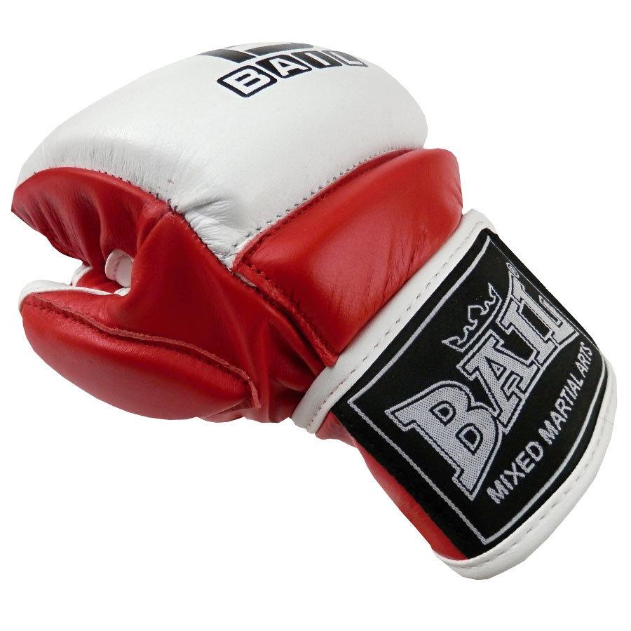Černo-červené MMA rukavice Bail