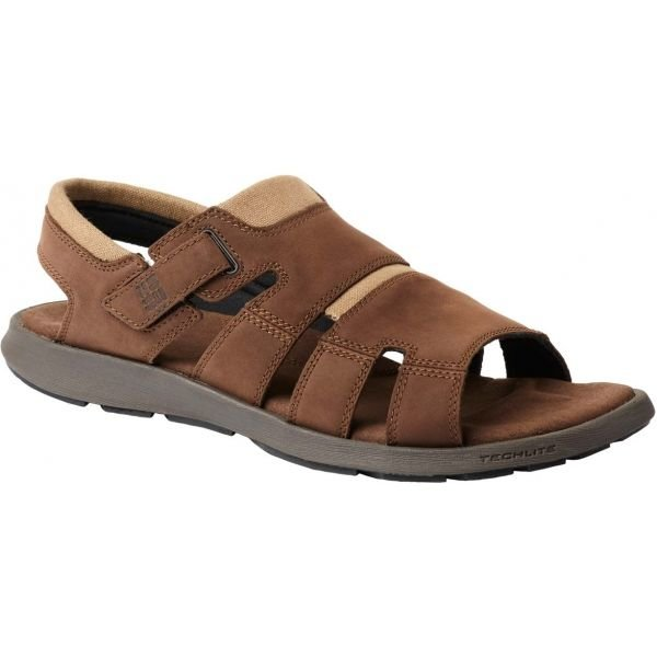 Hnědé pánské sandály Columbia