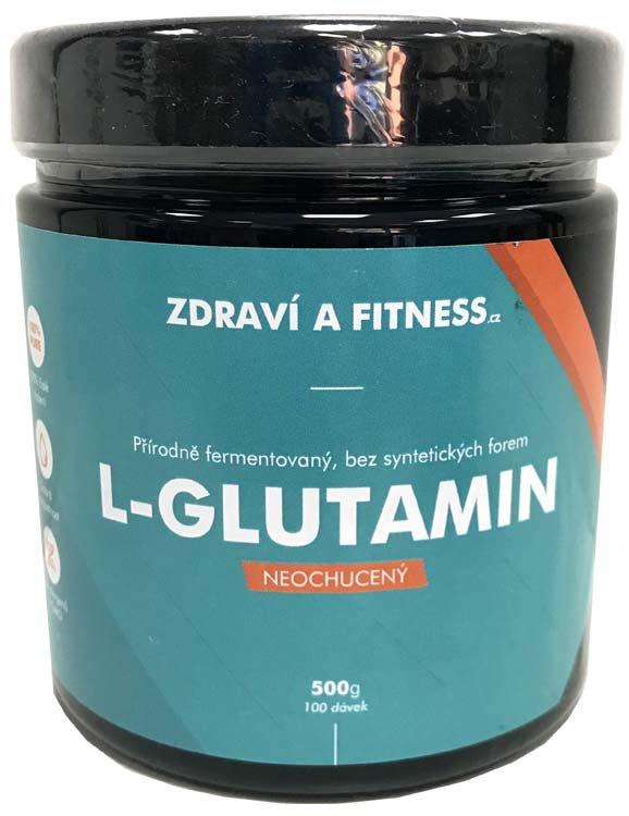 L-Glutamin - Zdraví a Fitness L-Glutamin 500g