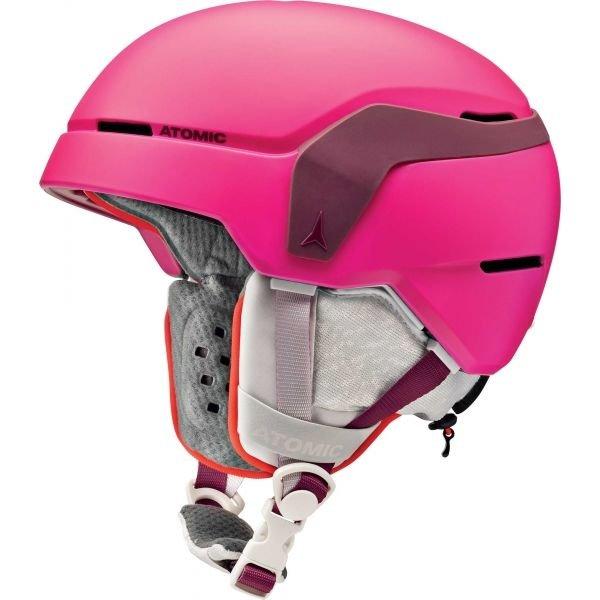 Růžová dívčí lyžařská helma Atomic - velikost S