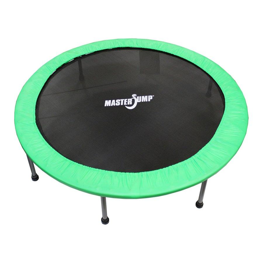 Kruhová fitness trampolína Masterjump - průměr 140 cm