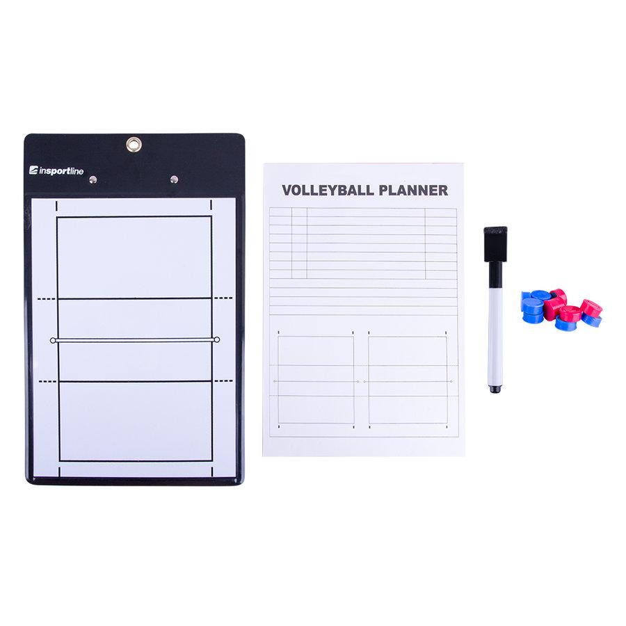 Basketbalový koš - Trenérská deska na volejbal inSPORTline VB76 - s magnety