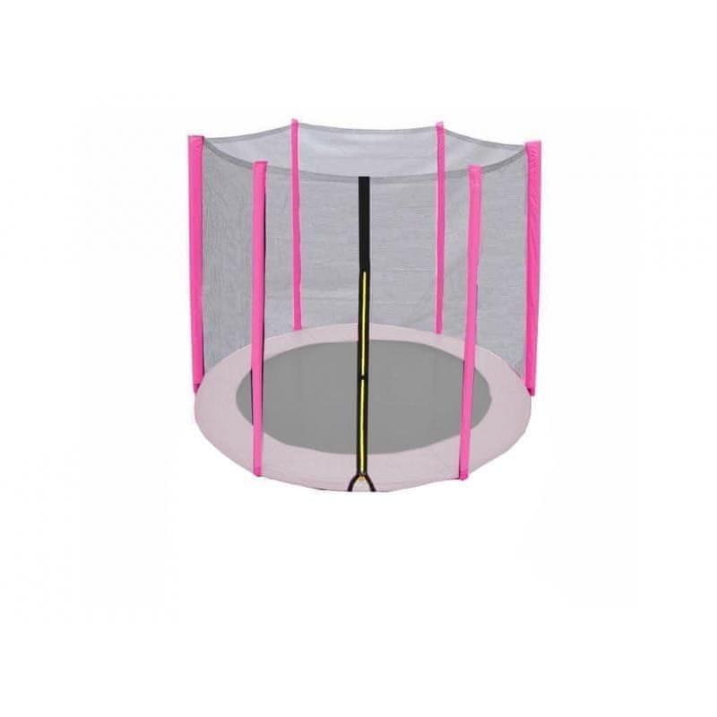 Ochranná síť na trampolínu - DUVLAN Ochranná síť na trampolínu FunJump Pink 183 cm